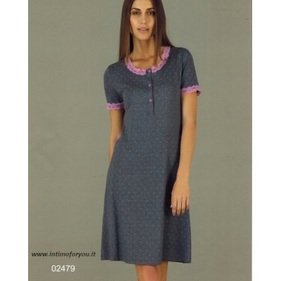 design senza tempo f5a87 f1317 Camicia da notte LINCLALOR 2479 - Intimo For You