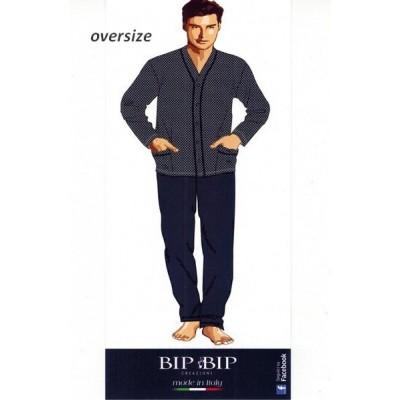 Pigiama uomo BIP BIP 1223 oversize aperto
