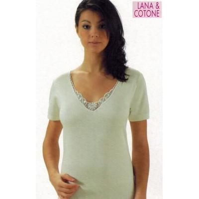 Maglia donna NOVENOVE 152 lana-cotone